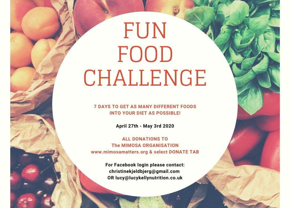 Fun Food Challenge